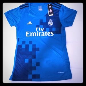 Adidas Real Madrid women's jersey